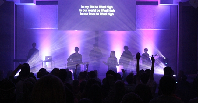 Student Worship at the Covenant